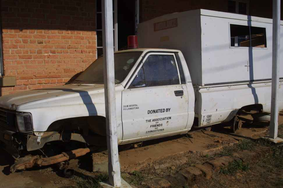 Former ambulance donated by Friends of Livingstonia