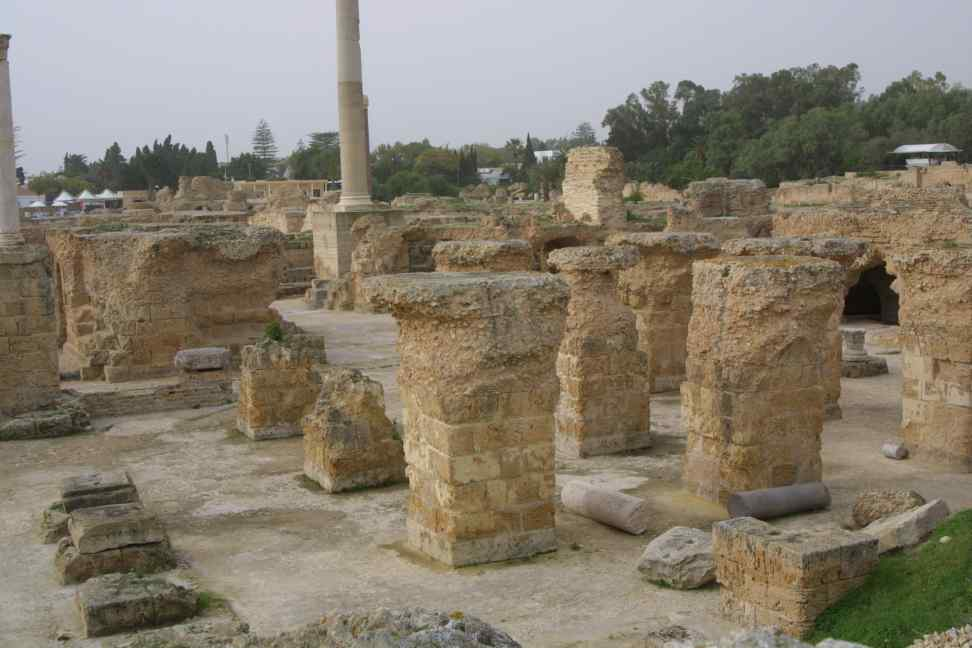 Carthage bath house