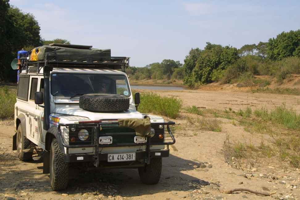 Daph in Chongwe riverbed