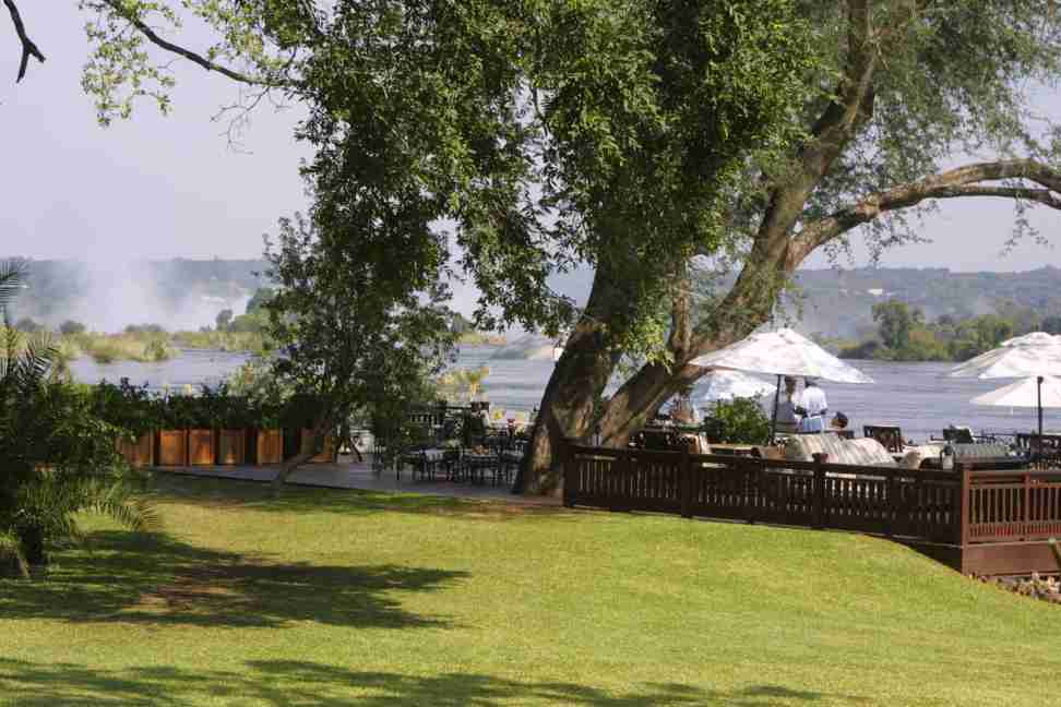 Zambezi from Royal Livingstone Hotel