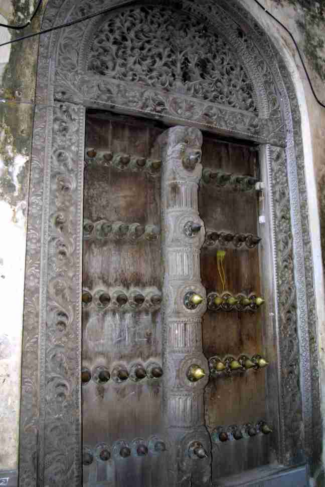 The more ornate the door, the 
