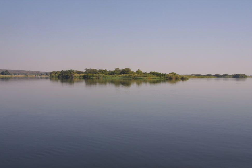 The Chobe and Zambezi river divide