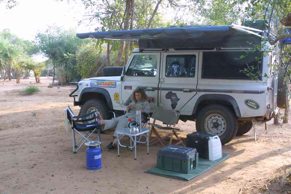 Community centre campsite on Zambezi