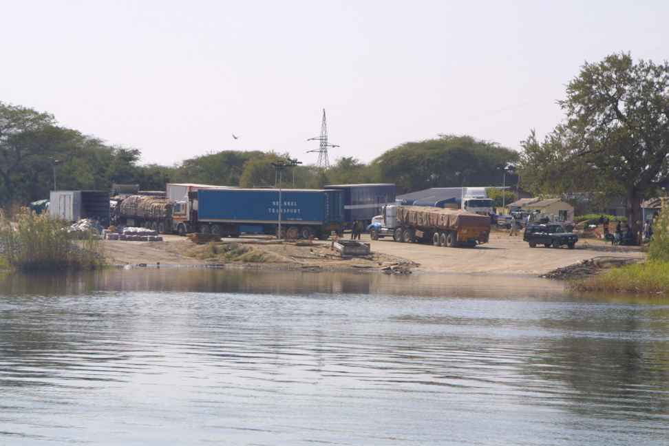 The Zambian landing stage